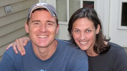 La pareja, presuntamente asesinada por el novio de su hija.