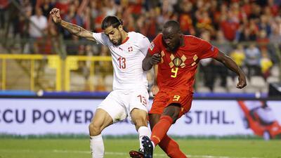 En fotos: Bélgica sigue pisando fuerte en la UEFA Nations League: derrotó a Suiza con doblete de Lukaku
