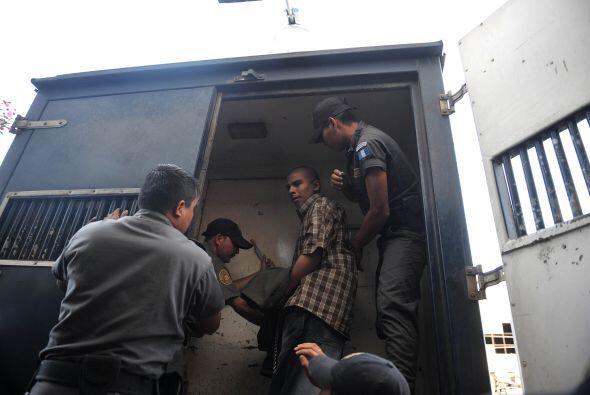 El tribunal guatemalteco declaró culpables a 24 pandilleros de los delit...