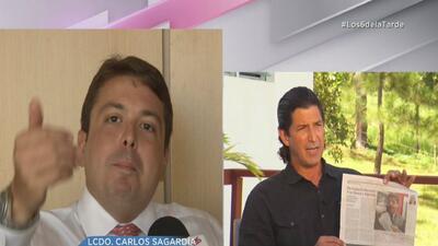 Hijo de Antonio Sagardía dice que expresiones de Fermín Arraiza son producto del desespero