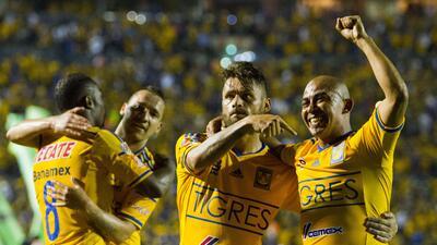 Tigres se rayó y goleó a Monterrey