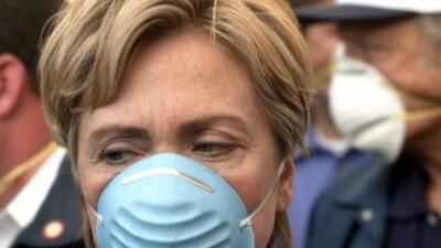 Clinton recibió el alta médica tras cuatro días ingresada en el Hospital...