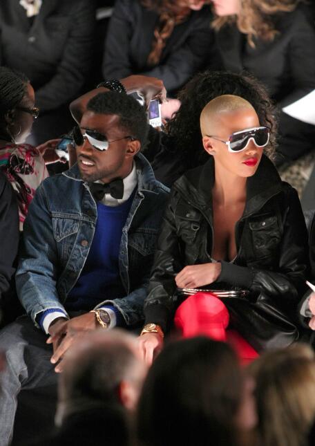 Kanye West y Amber Rose