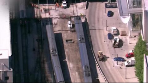 'Chicago en un Minuto': South Shore Line reanuda operaciones tras descar...