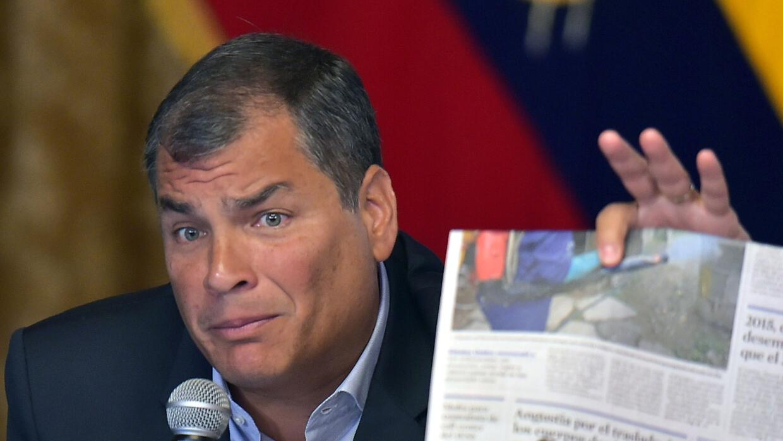 Ellerbeck: En Ecuador el derecho de autor silencia a críticos del Presid...