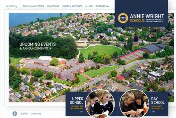 ANNIE WRIGHT SCHOOLS- Con sede en Washington, este internado acepta alum...