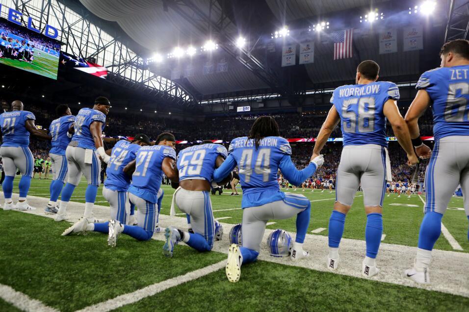 Protesta NFL