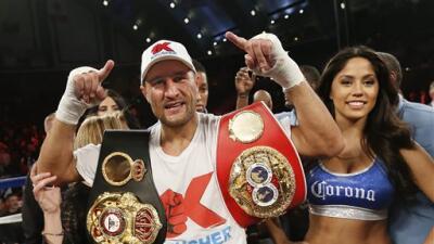 Kovlev defenderá títulos el 18 de julio.
