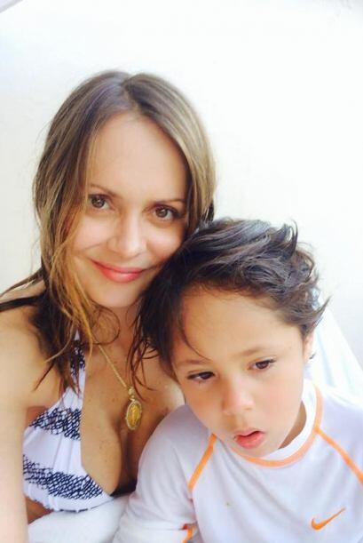 La verdad sería difícil imaginar que ya es madre del pequeño Gabriel.