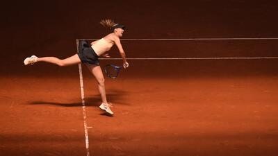 ¡Adiós a dos grandes!: Sharapova y Del Potro se despidieron del Mutua Madrid Open de tenis