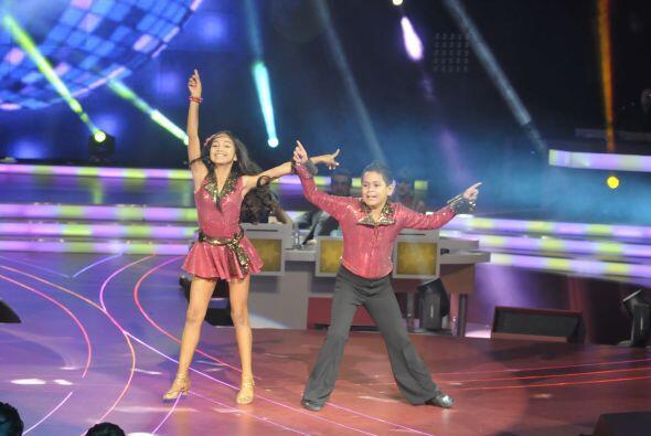 Altahir y Jorge tienen una gran coordinación a la hora de bailar.