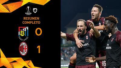 Dudelange 0-1 Milán - GOL Y RESUMEN- Grupo F Europa League