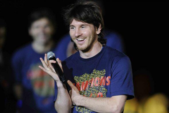 Messi fue ovacionado por todos los presentes en el estadio Camp Nou.