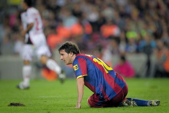 El argentino pasó apuros ante la zaga mallorquí.