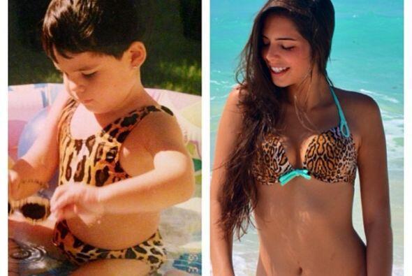 María, la hija mayor de Mariana, ya no es la niña tan linda que conocimo...