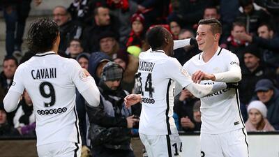 Julian Draxler no defrauda al PSG en su contratación y marca el gol del triunfo