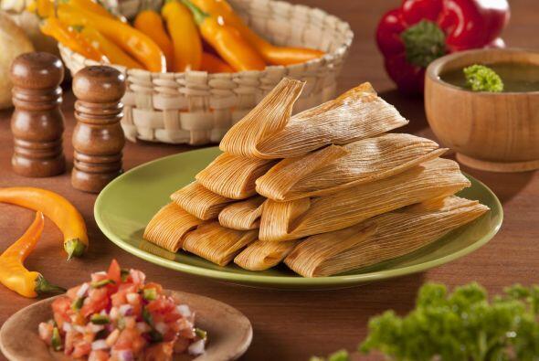 Tamales mexicanos. Estos no pueden faltar en la mesa navideña. Aunque no...