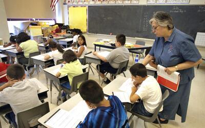Los castigos físicos se utilizan más en las escuelas prima...