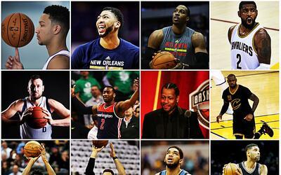 Desde Allen Iverson hasta Ben Simmons, pasando por Tim Duncan, Yao Ming,...
