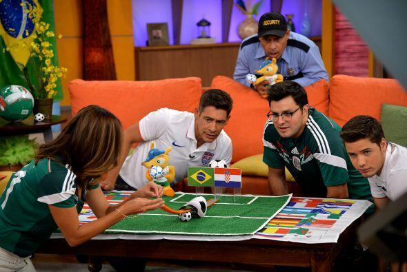 Una divertida forma de meter goles y determinar quién será el ganador en...