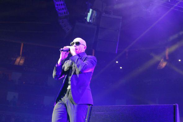 Enrique Iglesias y Pitbull en Houston