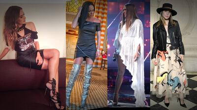 Zapatos de miles de dólares: el extravagante estilo de las famosas latinas
