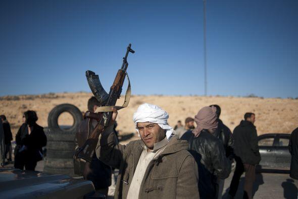 Los retenes suscitaron entre la población de Trípoli el temor de un nuev...