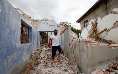 Oaxaca es hasta el momento el estado más afectado por el sismo.