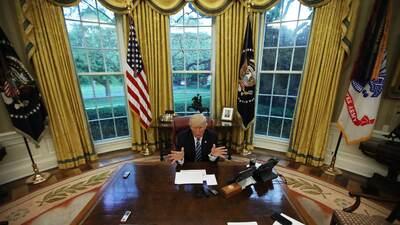 En fotos: Así transcurrieron los primeros 100 días de Donald Trump en la Casa Blanca