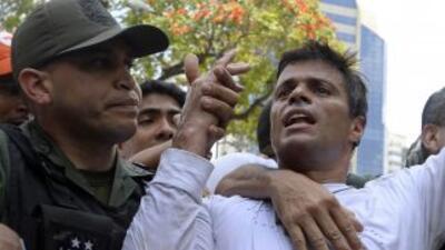 El líder opositor venezolano se sentará en el banquillo de los acusados...