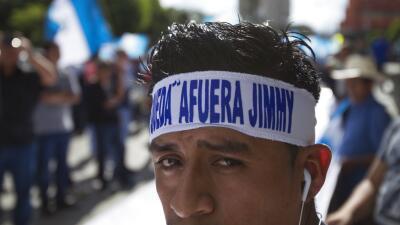 El giro al autoritarismo de Jimmy Morales en Guatemala