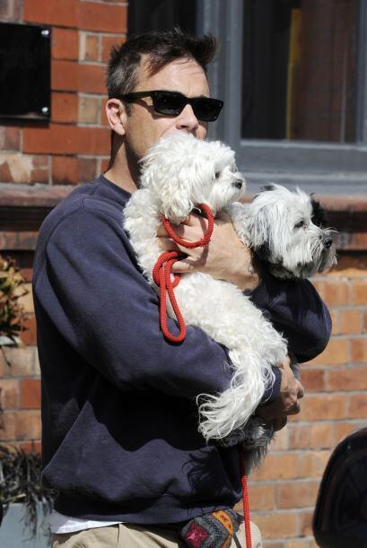 Estos son sólo dos de los ocho perros que llenan de alegría el corazón d...