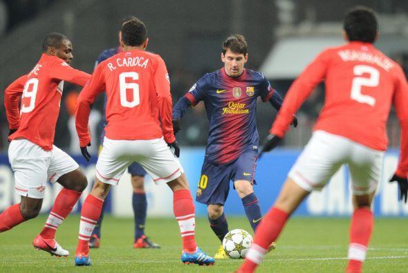 Pero no faltó la fiesta del astro argentino Lionel Messi.