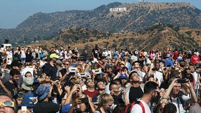 En fotos: Así se vivió el eclipse solar del sur al norte de California