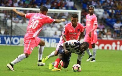Árabe Unido da la campanada al derrotar a Monterrey en la Liga de Campeones