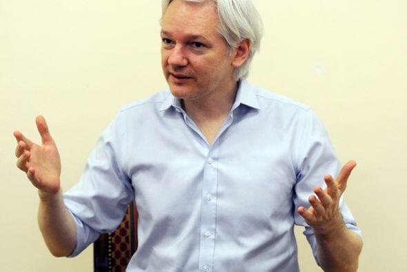 Julian Assange.  Natural de Australia, activista y periodista, es el fun...