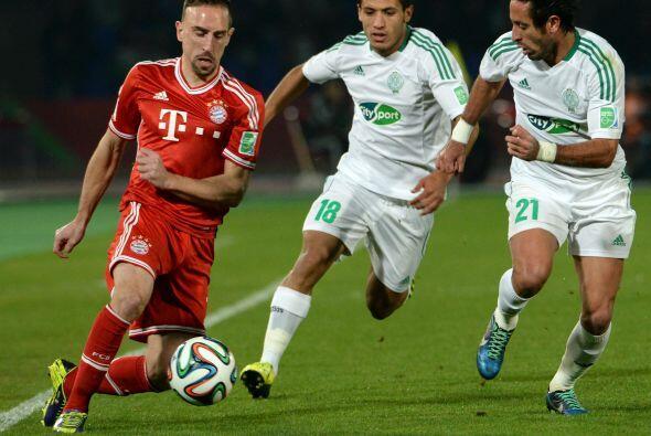 Si bien, el dominio fue total del Bayern, no se puede ocultar al perdona...
