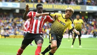 Watford, sin Layún, y Southampton empatan