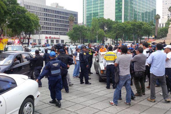 Manifestantes dijeron a Univision.com que las restricciones a la circula...