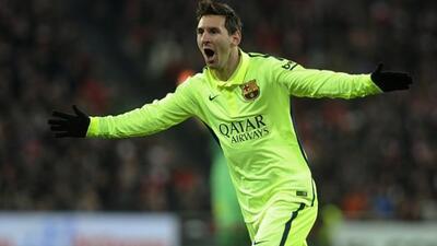 Lionel Messi es el mejor delantero del primer trimestre del 2015.