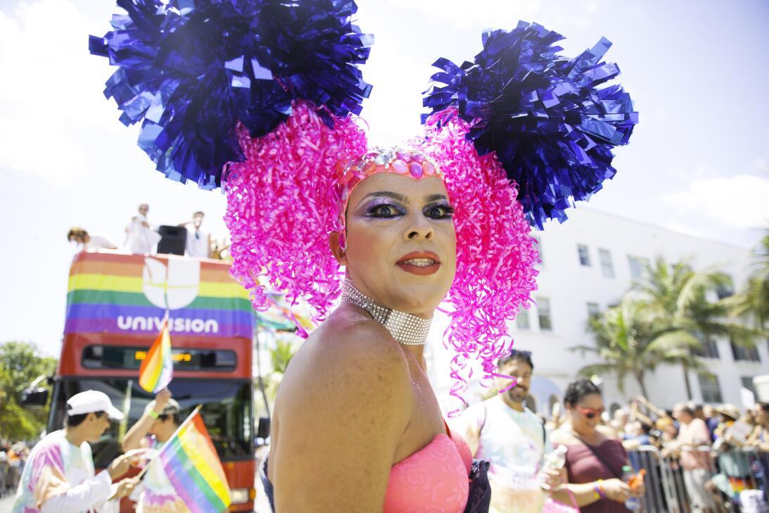 """El desfile de este año se definió como la """"marcha por la igualdad&q..."""