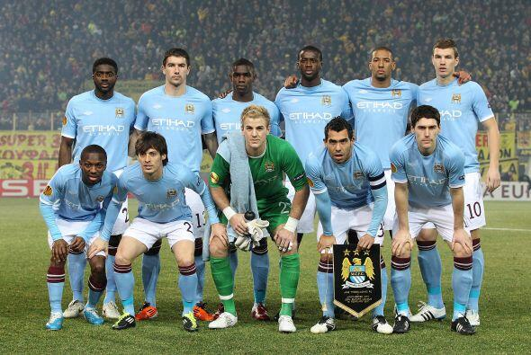 Los 'Citizens' jugaron con la mayoría de futbolistas titulares.