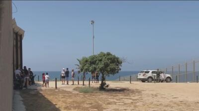 El Parque de la Amistad, un lugar de encuentro para familias separadas por la frontera