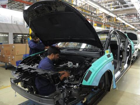 Los dos principales fabricantes estadounidenses de automóviles, G...