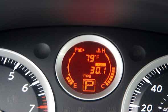 El consumo de combustible luego de una semana en condiciones mixtas fue...