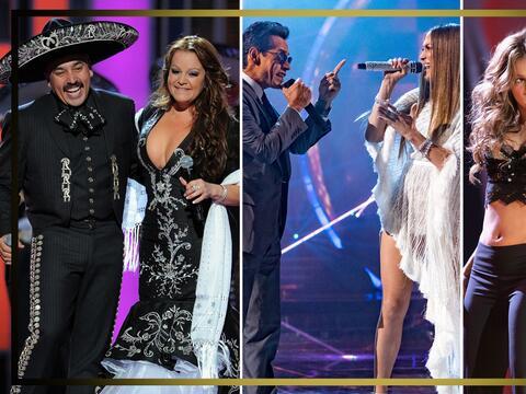 En fotos: estos han sido los duetos más memorables en Latin GRAMMY