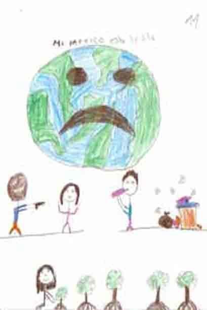 Los niños piden que esta realidad que los rodea, cambie. Cortes&i...