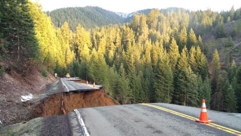El tramo de la autopista 3 fue clausurado hasta nuevo aviso.
