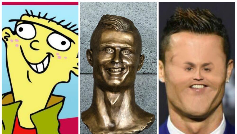 Los memes se burlan de Cristiano Ronaldo y su deforme escultura 58.jpg