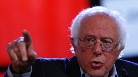 El Senador Sanders sugirió al presidente Trump que renuncie a su cargo,...